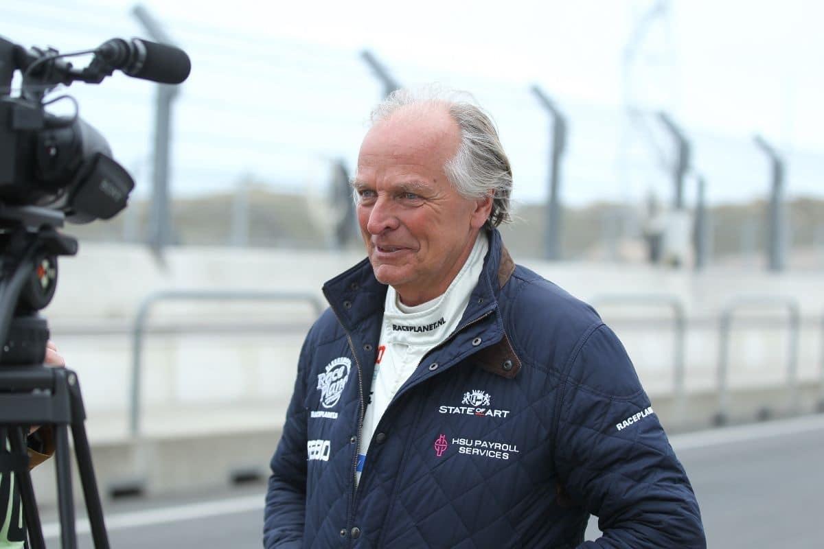 Michael Bleekemolen interview op circuit zandvoort tijdens eerste race 2020