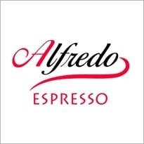Logo van koffieleverancier Alfredo Espresso