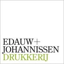 Logo drukkerij Edauw + Johannissen Drukkerij