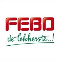 Logo van cafetariaketen Febo - De lekkerste.