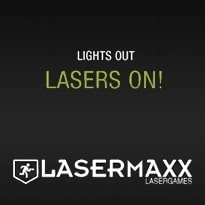 Logo van lasergame Lasermaxx