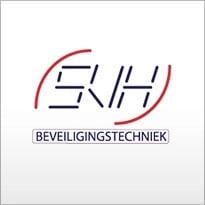 Logo van beveiligingsbedrijf SVH Beveiligingstechniek.